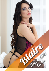 Blaire sure is a yummy Las Vegas call girl.